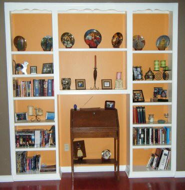 Built-In Bookshelf
