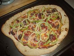 Vegan Gluten Free Homemade Pizza