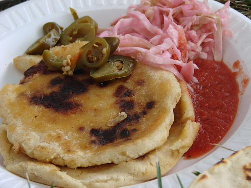Pupusas from the Ballfields