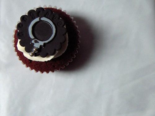 S&M Handcuff Cupcake