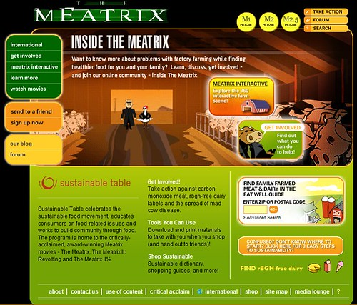 The meatrix II dans SITES A VOIR...