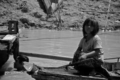 Water With LIfe (Quinn Ryan Mattingly) Tags: life people white lake black water boats cambodia village floating siem reap land simple sap tonlesap tonle cambodiajuly2008