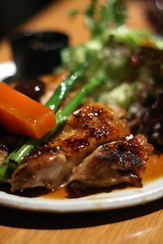 teriyaki chicken in butter sauce
