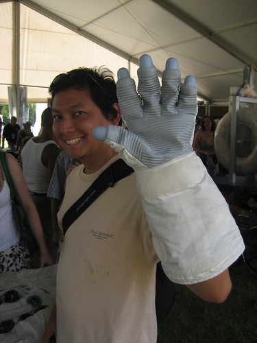 Paulo with Apollo Glove
