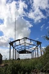 The War of the Worlds (kestrel49) Tags: sky clouds barn derelict dereliction waroftheworlds delapidation derelictbarn delapidatedbarn alienvehicle