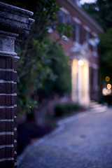 William Lawrence Bottomley (Ansel Olson) Tags: light house colour monument architecture night 1931 greek evening virginia lawrence nikon william richmond historic architect va georgian residence avenue address 50mmf14 revival 800asa prestigious bottomley d700 adamesque jeffresshouse