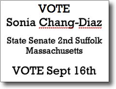 VOTE Sonia Chang-Diaz