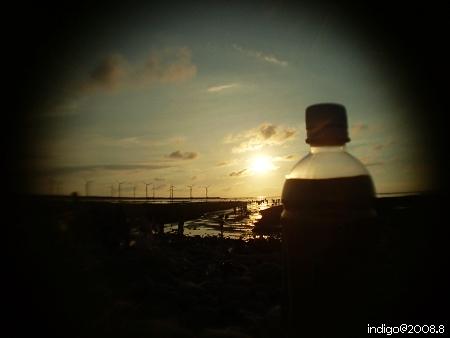 等待蛋黃落下 (by indigo@Taiwan)