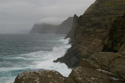Faroe Islands - stormy evening