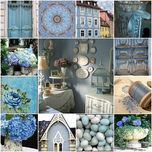 I Love the Blues! by Romantic Home.