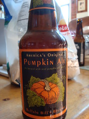 the first pumpkin ale of the season