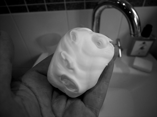 Face in my foam