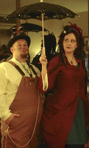 Steampunk Odd Couple