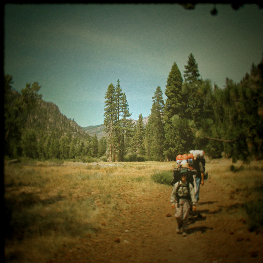backpacking - toy camera