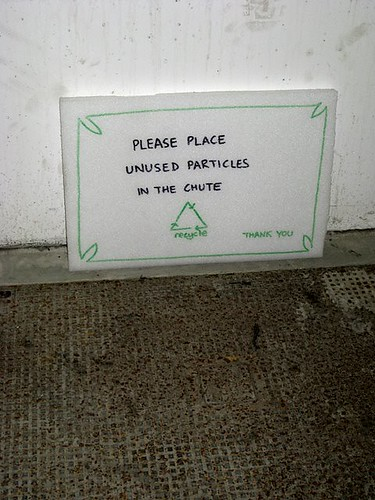 Unused Particle Disposal