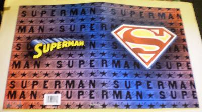 Exterior of my third Superman folder from 2006
