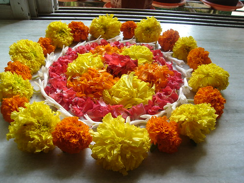 Onam Flower Decor