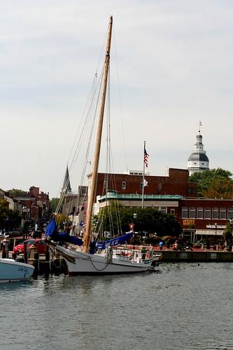 sailboat boats harbor annapolis