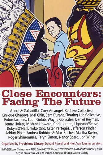 """Close Encounters - Facing the Future"" - postcard - 1"