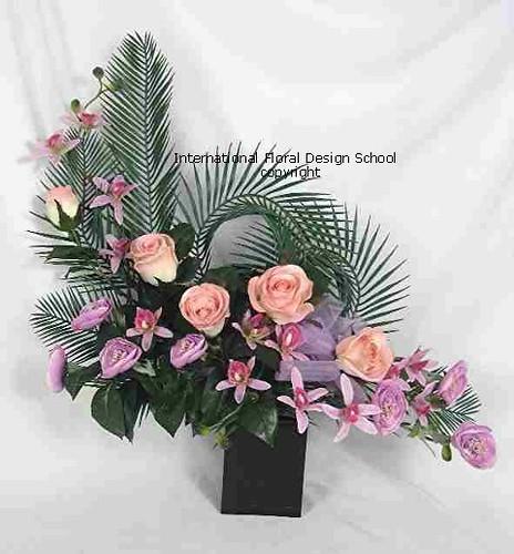 Flower Arranging Floristry Modern Flower Arrangement
