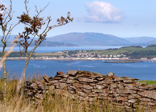 Millport from Goldenberry hill