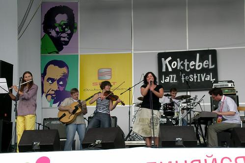 Лампа Ladino на Koktebel Jazz 2008