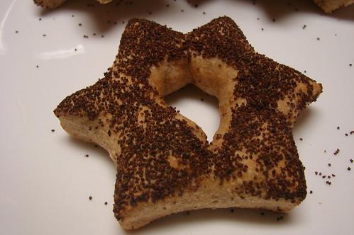 Poppy Seed Stars