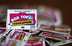 Box Tops bokeh!!!