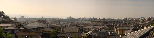 Vistes des de l'alber de Nara (panoràmica)