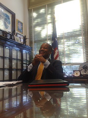 Day 14, Washington DC - Mayor Jay Williams of Youngstown at Senator Hagel's office