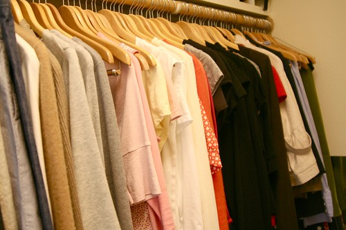 week in the life : my closet by you.