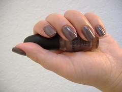 Sephora by OPI - Metro Chic - Swatch/Manicure (mskatee22) Tags: hands fingers nails manicure nailpolish sephorabyopi metrochic