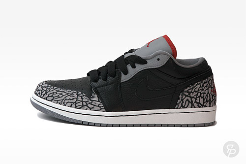 Air Jordan 1 Phat Low Black Cement