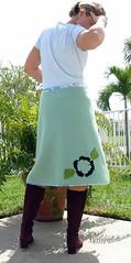 Blanket Skirt Back