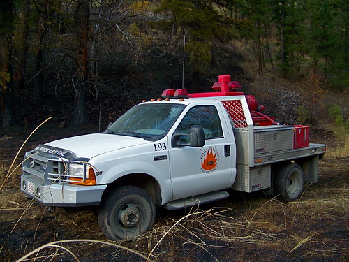 "Rural Fire ""brush truck"""