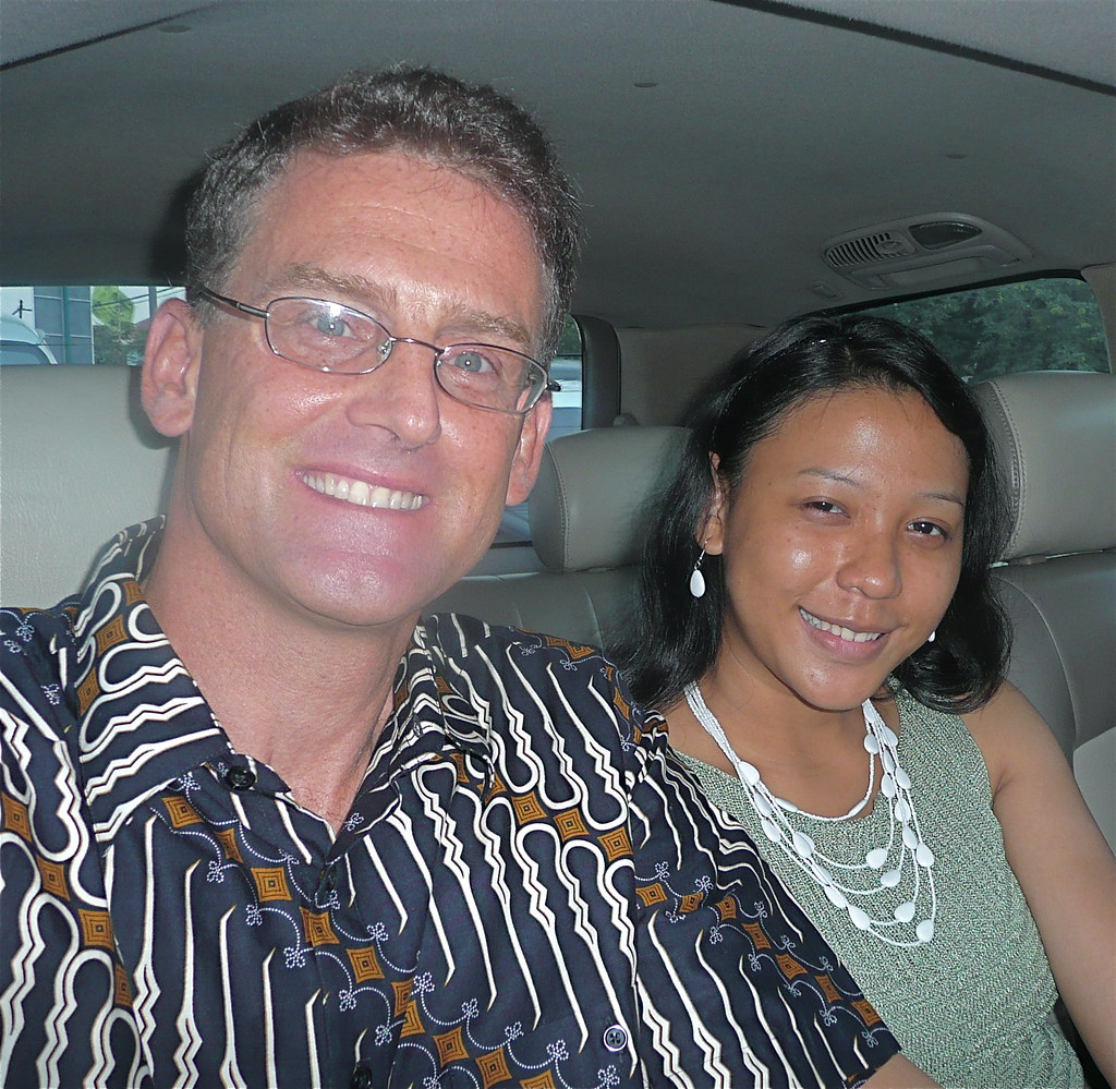 K&M with Jewelry from A&M; Batik Shirt