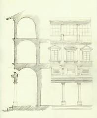 Uffizi (holverfield) Tags: florence uffizi elevationsectionstudy