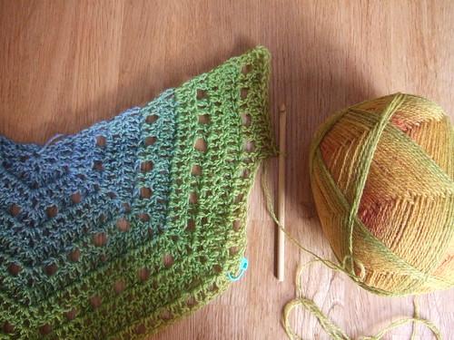 Eva s Shawl Crochet Pattern : Eva s Shawl ? Pattern updates Without Seams