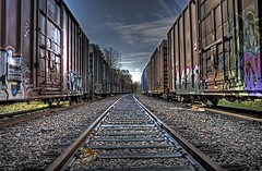 Rail tracks (shawn peps) Tags: