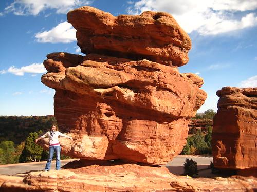 Me at Balancing Rock