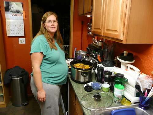 40 weeks pregnant, in labor today!