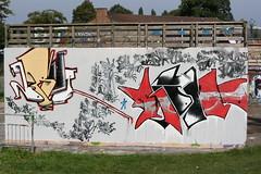 Brul / promo (Richard Cocks) Tags: graffiti promo prom skatepark guildford brut stokepark rume