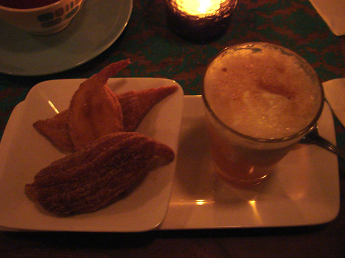Hard Cider Float & Churros