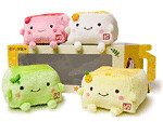 Hannari Tofu Classic Mini Cushion Set (Fuji.Friends) Tags: pink blue winter friends white snow anime cute green classic japan kids umbrella toy lunch japanese grey back hoodie cozy soap dispenser chair warm soft long break fuji tea box body turtle ninja tissue sesame tofu manga adorable plum tshirt mini bean plush pillow cover sparrow foam memory blanket cuddly kawaii lil devil romantic hood roll ribbon accessories sweatshirt collectables grilled creatures peeking sleeve fruity contour cushions throw collectibles yuzu mythical foldable hannari