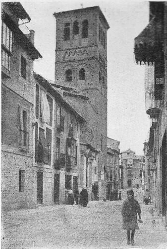 Calle de Santo Tomé (Toledo) a principios del siglo XX