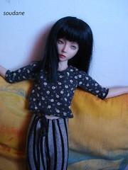 NARAE NARIN DOLL (soudane) Tags: fashion outfit dolls handmade clothes bjd abjd msd handknitted balljointeddolls narae narindoll asianballjointeddolls