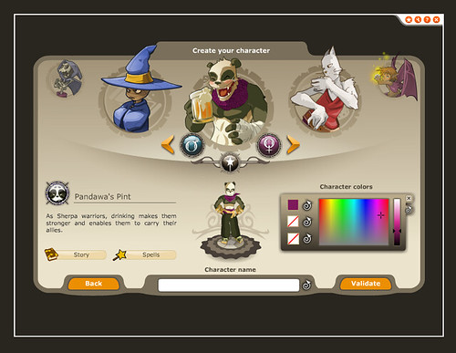 Dofus-game_5-select-character3 by Narisa