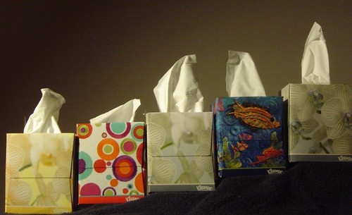 More tissue boxes in more places