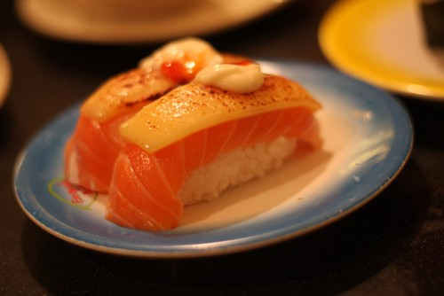 salmon cheese