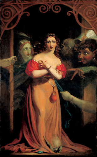 Bertalda, Assailed by Spirits by Theodore Von Holst by you.